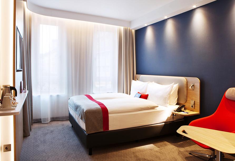 Beispiel eines Doppelzimmers im Holiday Inn Express Kaiserslautern