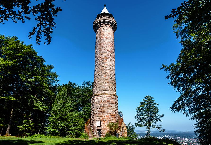 Der Humbergturm ist das stille Wahrzeichen Kaiserslauterns.