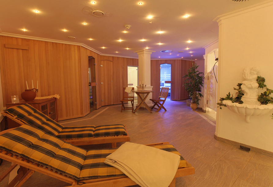 Wellnessbereich im Hotel & Gourmet-Restaurant Westhoff