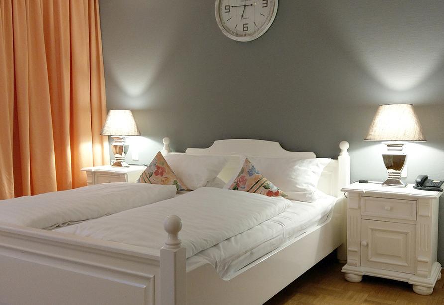 Beispiel eines Doppelzimmers im Hotel & Gourmet-Restaurant Westhoff