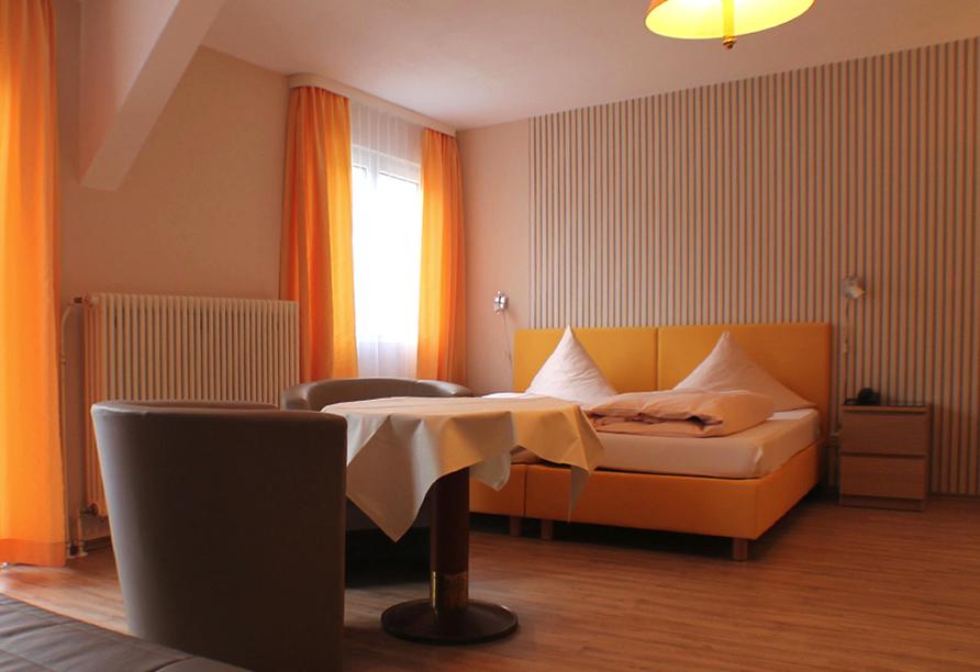 Beispiel eines Doppelzimmer Superior im Kurhotel Quellenhof