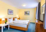 Beispiel eines Doppelzimmers vom Kurgarten-Hotel in Wolfach