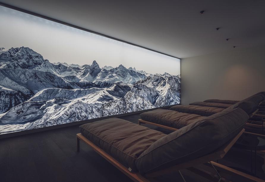 Parsenn Resort Davos Schweiz, Ruheraum