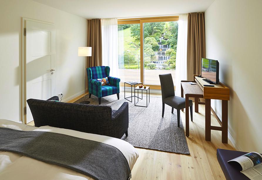 Beispiel eines Doppelzimmers Komfort vom Hotel Therme Bad Teinach