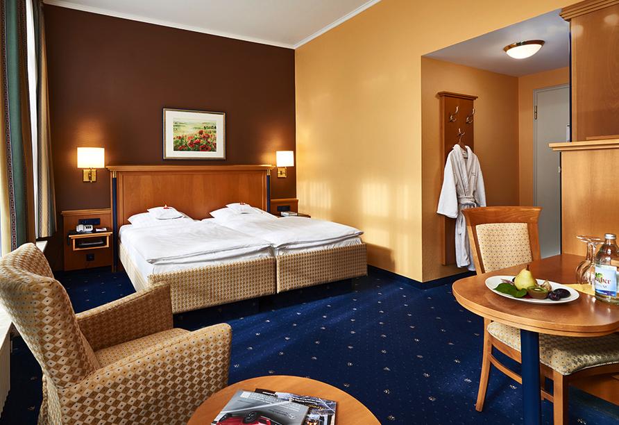 Beispiel eines Doppelzimmers Standard vom Hotel Therme Bad Teinach