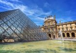 Im Pariser Louvre erwartet sie die Kunst großer Meister.