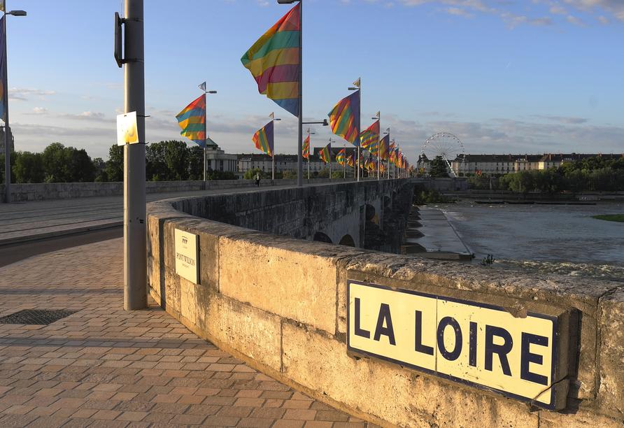 Entlang der Loire gilt es zauberhafte Landschaften und märchenhafte Schlösser zu entdecken.
