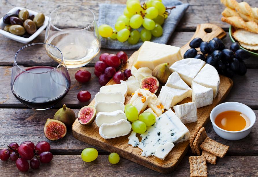 Was wäre ein Urlaub in Frankreich ohne Wein und Käse?