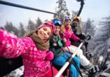 Parsenn Resort Davos Schweiz, Familienurlaub