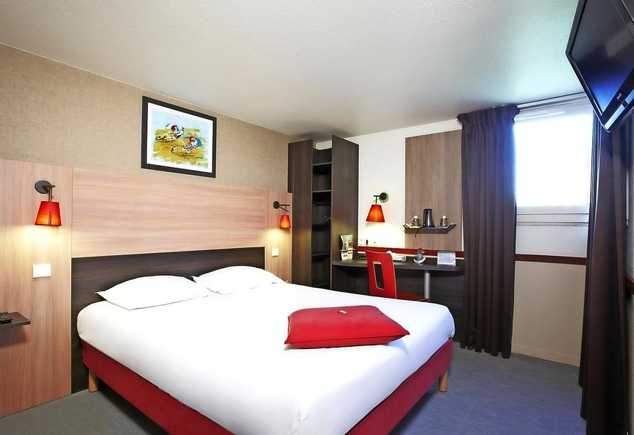 Zimmerbeispiel im Hotel Kyriad Paris Ouest Colombes
