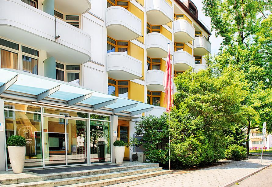 Nehmen Sie sich eine Auszeit im Leonardo Hotel & Residenz München.