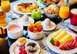 Starten Sie Ihren Tag mit einem leckeren Frühstück im Leonardo Hotel & Residenz München.