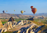 Ein wahres Highlight in Kappadokien – eine Ballonfahrt über die einzigartige Landschaft.