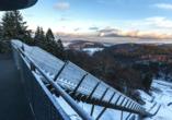 Sporthotel zum Hohen Eimberg in Willingen, Mühlenkopfschanze