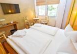 Spree-Waldhotel Cottbus in Brandenburg, Beispiel Naturkomfortzimmer