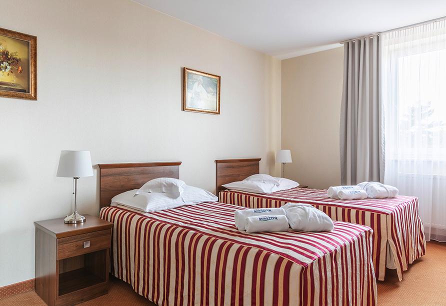 Hotel Bernstein in Dabki-Bobolin Ostsee Polen, Zimmerbeispiel
