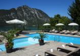 Rundreise Schweizer Seenzauber, Außenpool des Hotels Campione