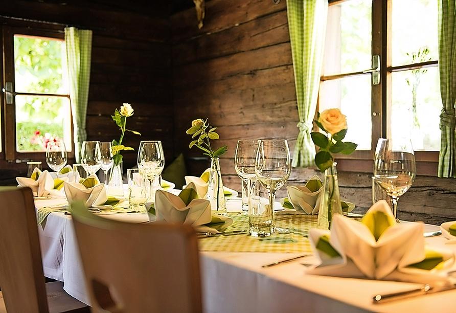 Hotel Reschenhof in Mils, Tirol, Österreich, Restaurant