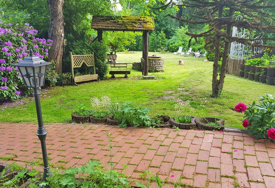 PRIMA Hotel Harzromantik, Gartenanlage