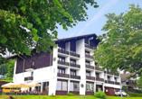 Hotel Almberg in Philippsreut im Bayerischen Wald, Außenansicht