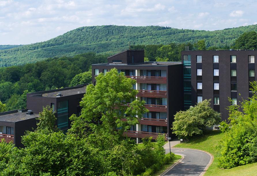 Rhön Park Aktiv Resort in Hausen-Roth, Außenansicht