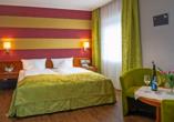 Weinhotel Landsknecht in St. Goar am Rhein, Zimmerbeispiel