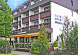 Hotel Stadt Homburg in Homburg an der Saar im Saarland, Außenansicht