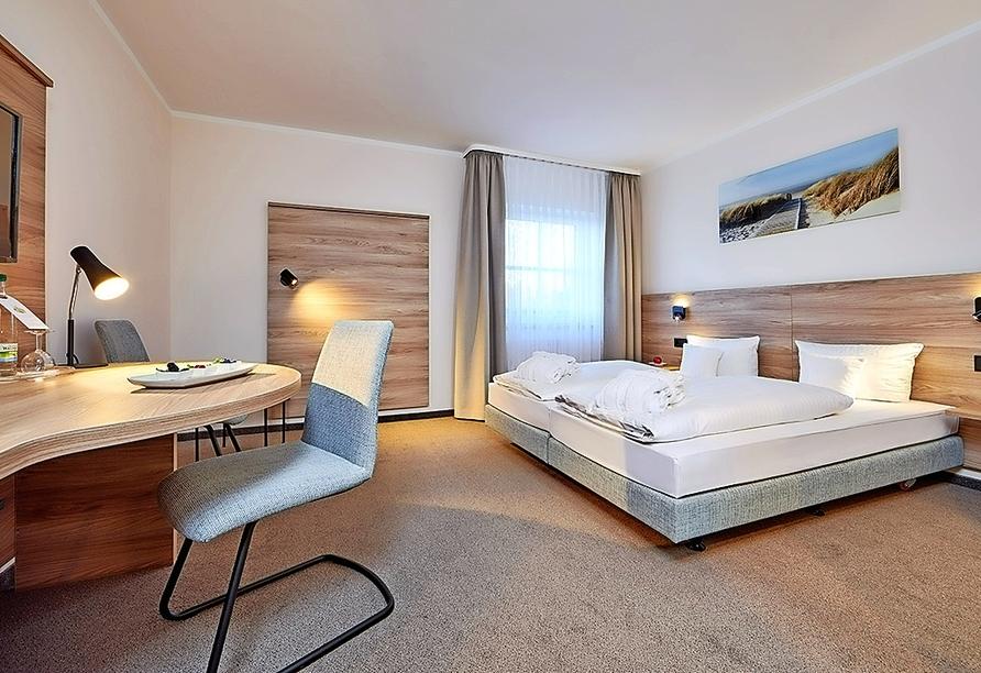 Hotel Linderhof in Erfurt, Beispiel Doppelzimmer