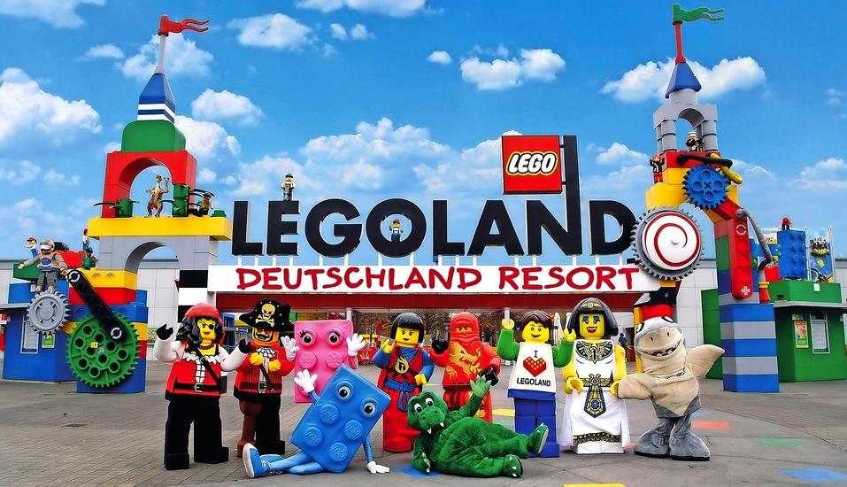 LEGOLAND® Deutschland Resort, Eingangsbereich