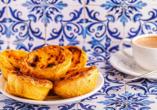 Ein Klassiker der portgugiesischen Küche: Pastel de Belém.
