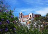 Imposante gotische Kathedrale in Silves.