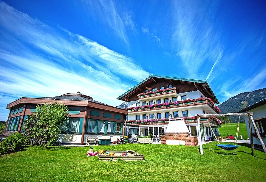 Hotel Berghof Mitterberg, Außenansicht