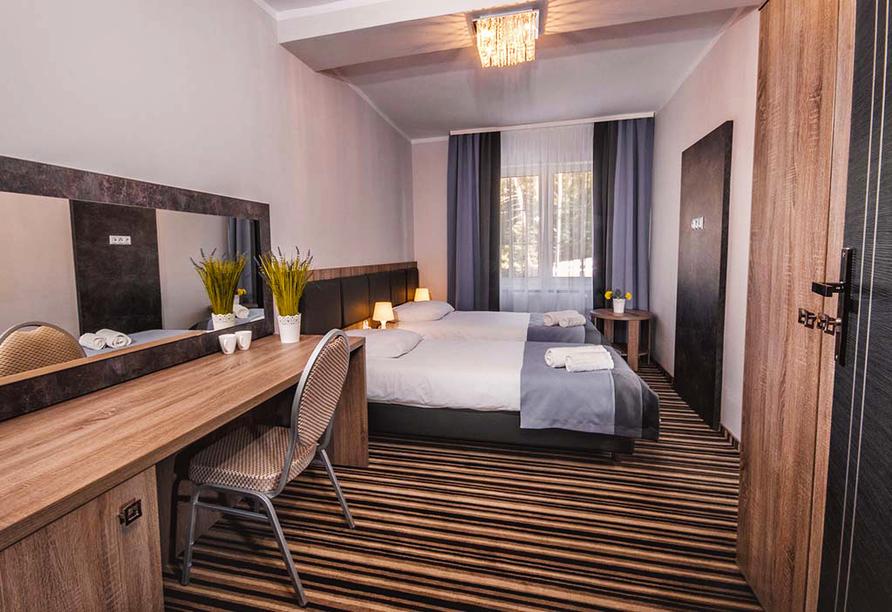 Hotel New Corner in Niechorze, Zimmerbeispiel