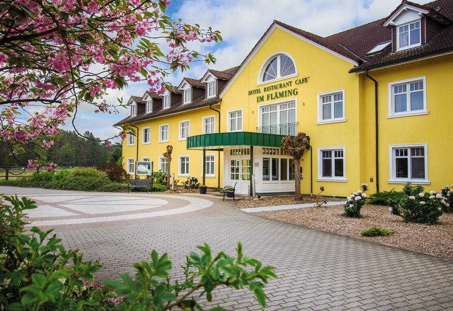 Außenansicht vom Ferien Hotel Fläming Niemegk