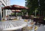 Hotel Velotel, Terrasse