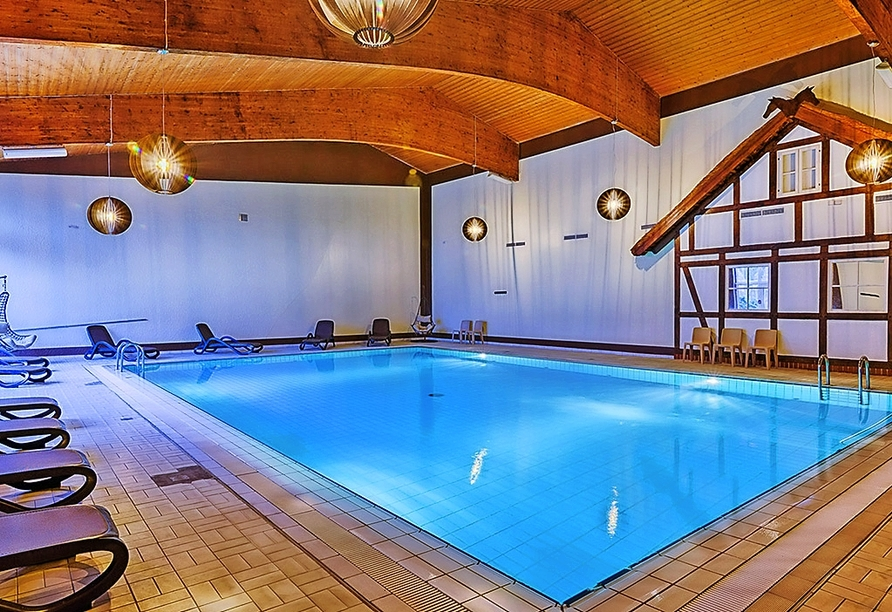 Sport- & Vital-Resort Neuer Hennings Hof in Perleberg, Hallenbad