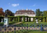 Das Schloss Branitz liegt ganz in der Nähe des Ahorn Hotel Cottbus