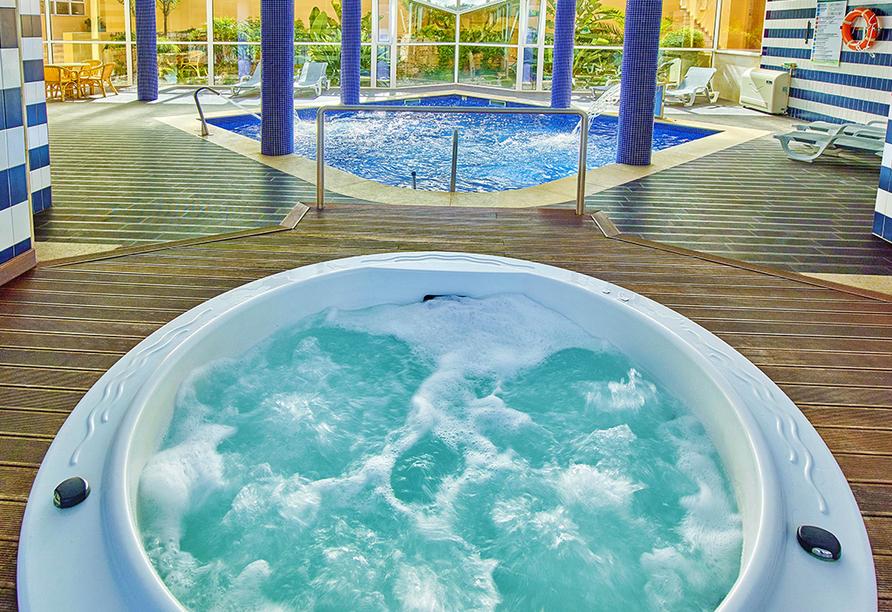 Whirlpool vom Hotel Baía Cristal Beach & Spa Resort