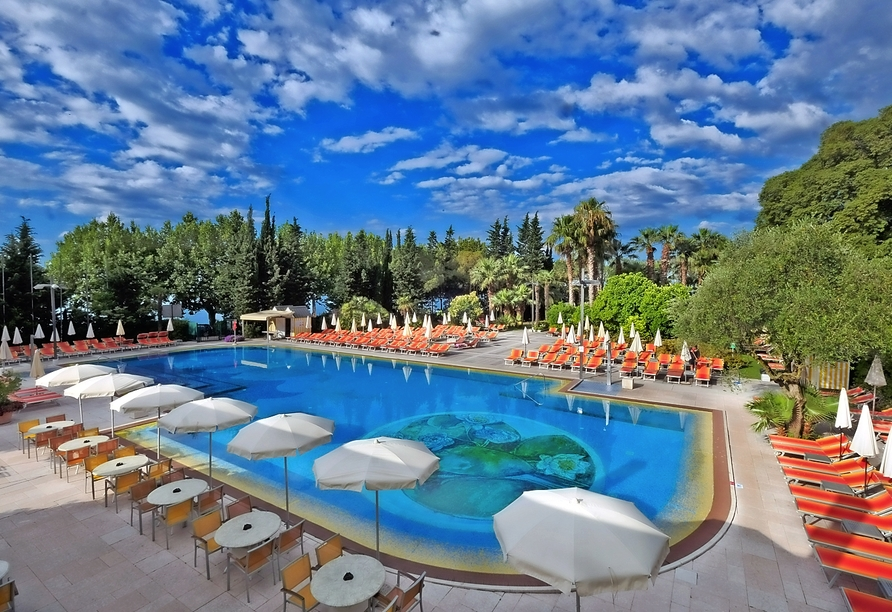 Parc Hotel Gritti, Bardolino, Gardasee, Italien, Außenpool