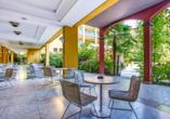 Parc Hotel Gritti, Bardolino, Gardasee, Italien, Terrasse