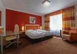 Active & Wellness Hotel Subterra in Ostrov, Zimmerbeispiel