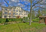 Active & Wellness Hotel Subterra is Ostrov, Außenansicht
