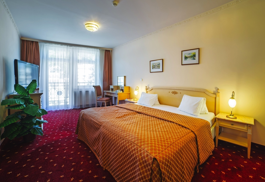 Interhotel Central, Karlsbad, Böhmisches Bäderdreieck, Tschechien, Zimmerbeispiel Deluxe