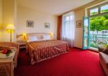 Interhotel Central, Karlsbad, Böhmisches Bäderdreieck, Tschechien, Zimmerbeispiel Standard