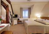 Beispiel eines Doppelzimmers im Hotel Hoeri am Bodensee