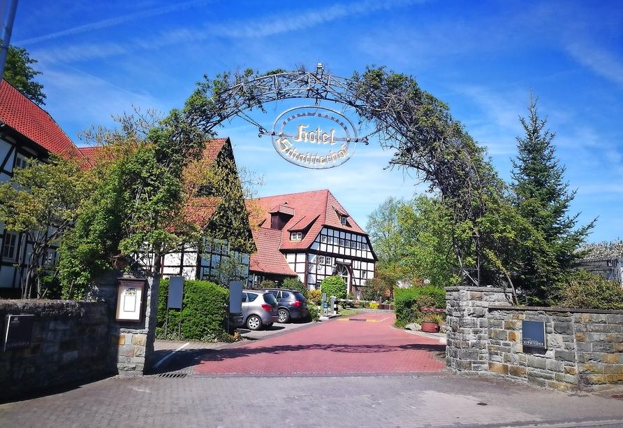 Hotel Schnitterhof in Bad Sassendorf, Außenansicht