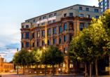 AC Hotel Mainz, Außenansicht
