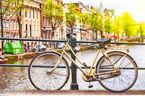 Entdecken Sie die Metropole Amsterdam am besten mit dem Rad!