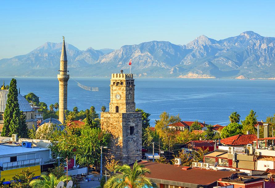 Beeindruckendes Panorama von Antalya
