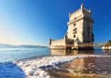 Der Bélem Turm ist eines der bekanntesten Wahrzeichen Lissabons.